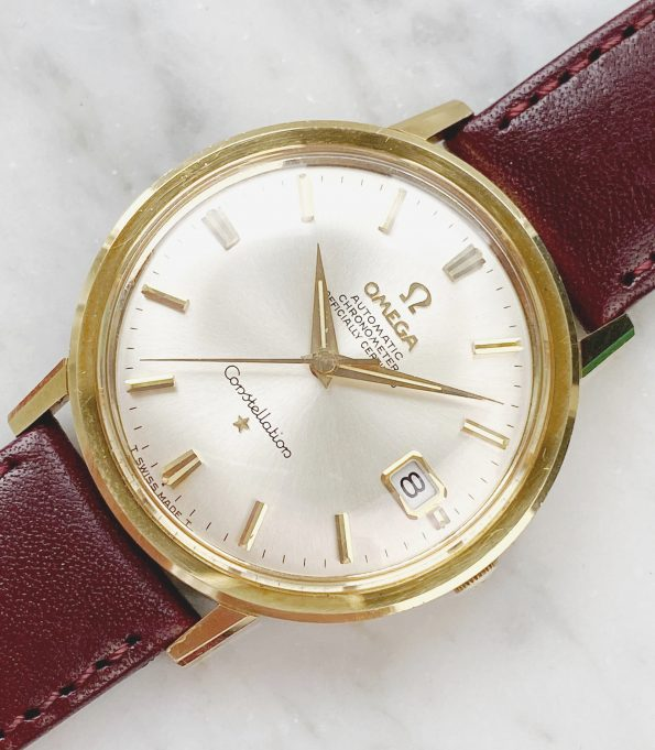 Beautiful Solid Gold Omega Constellation Automatic Vintage