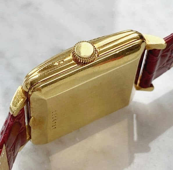 Vintage IWC Solid 18ct Gold Automatic 50ties