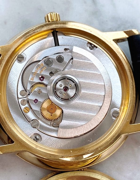 Beautiful Blancpain Villeret Solid 18ct Gold Automatic