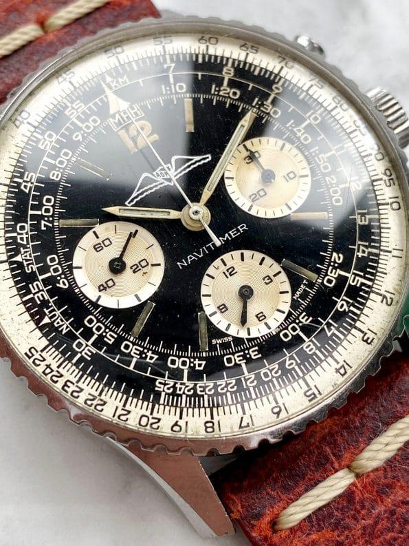 Rare AOPA Breitling Navitimer Chronograph Ref 806 Serviced