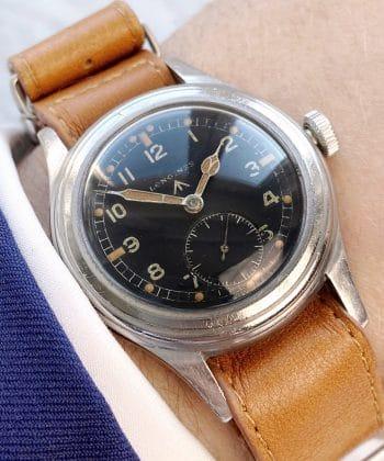 Extremely rare Longines RAF Dirty Dozen Military Watch ww2