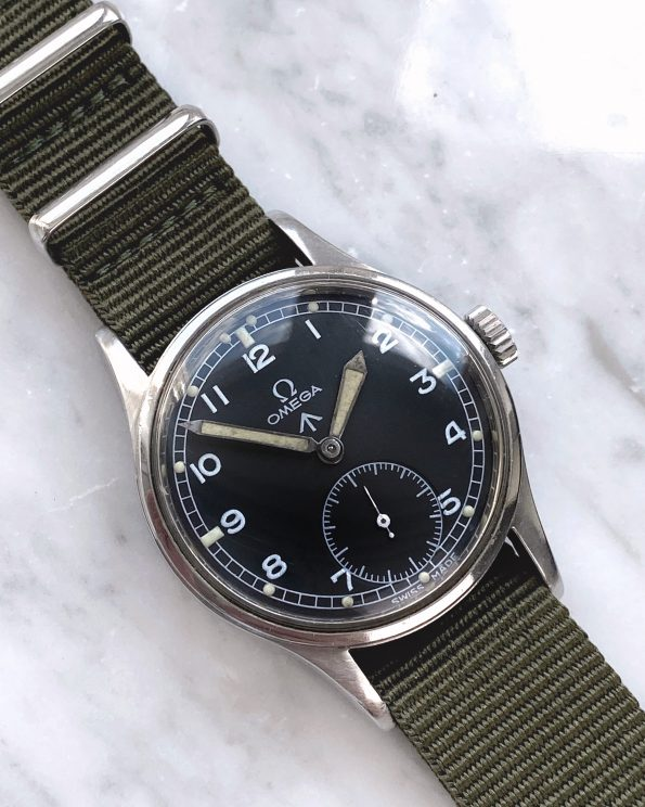 Vintage Omega RAF Dirty Dozen Military 1945
