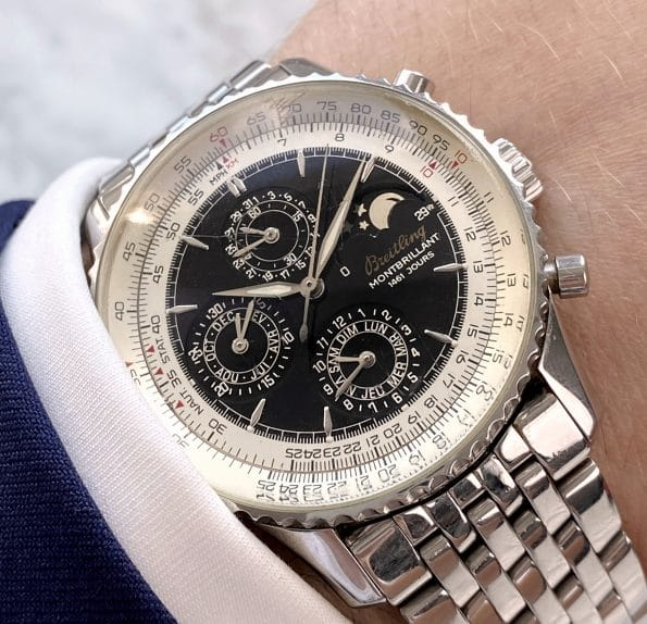Breitling Navitimer Montbrillant Olympus Steel Automatic Limited