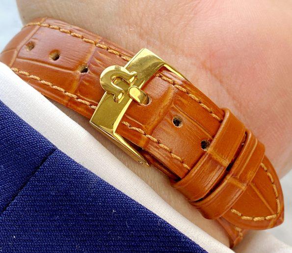 Omega Seamaster Vintage Vergoldet Fadenkreuz Ziffernblatt