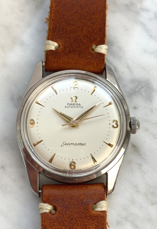Refurbished Vintage Omega Seamaster Automatic with cream Explorer Dial