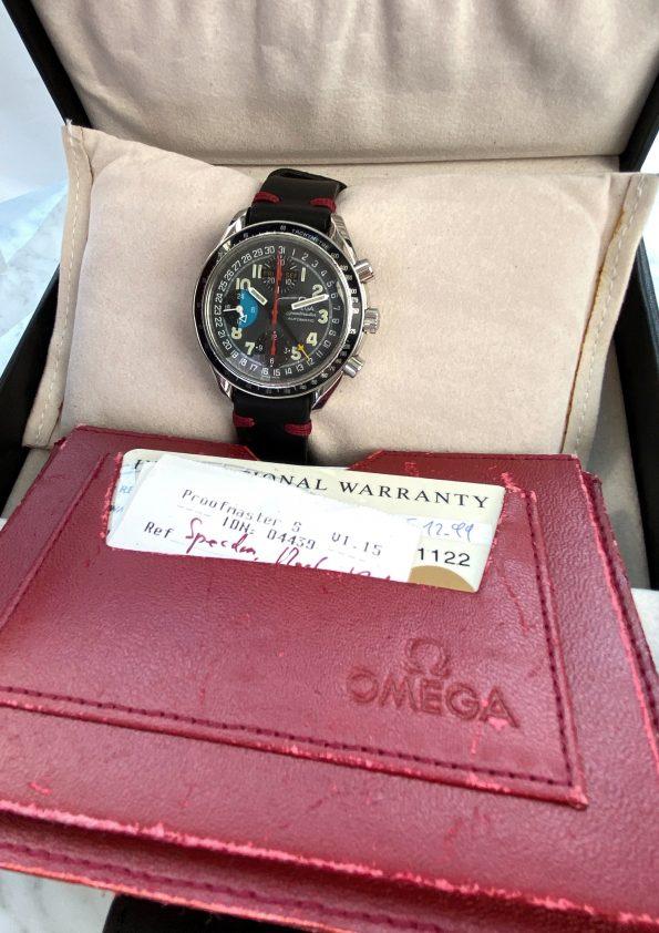 RARE Vintage Omega Speedmaster Triple Date MK40 Full Set