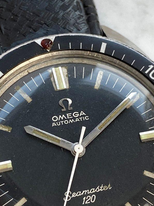 Omega Seamaster 120 Automatik Vintage SELTENE AUSFÜHRUNG ohne Datum