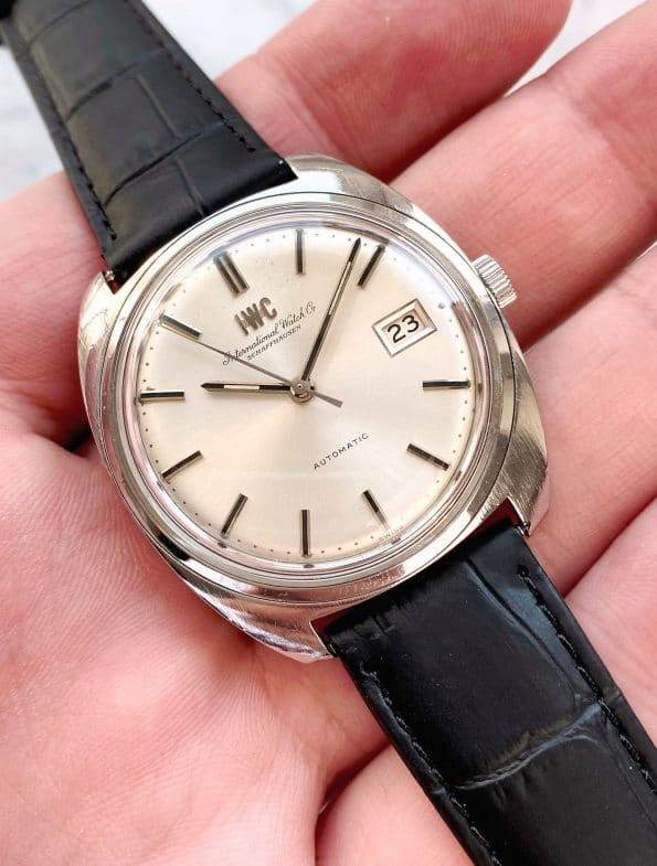 Vintage IWC Steel 1974 Automatic with box