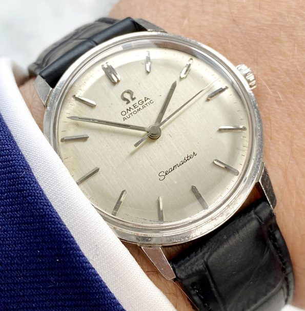 Vintage Omega Seamaster Automatic Linen Dial