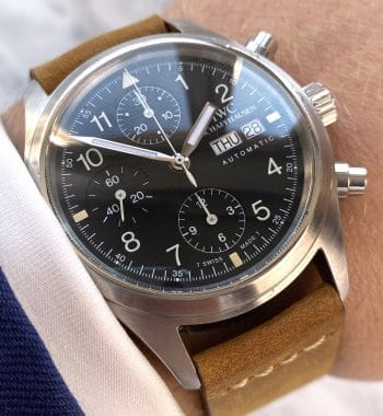 IWC Der Flieger Chronograph 3706 Automatic