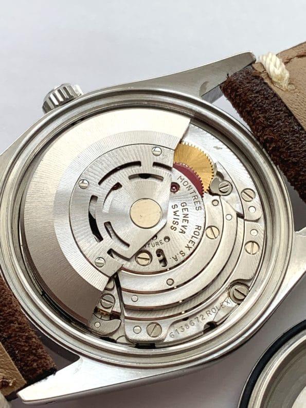 Tolle Vintage Rolex Datejust Automatic Automatik Leinenziffernblatt