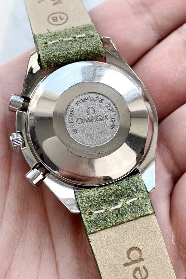 Vintage Omega Speedmaster Triple Date blue dial Full Set