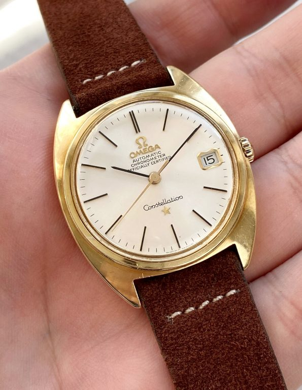 Solid Gold Omega Constellation Automatic Vintage Chronometer