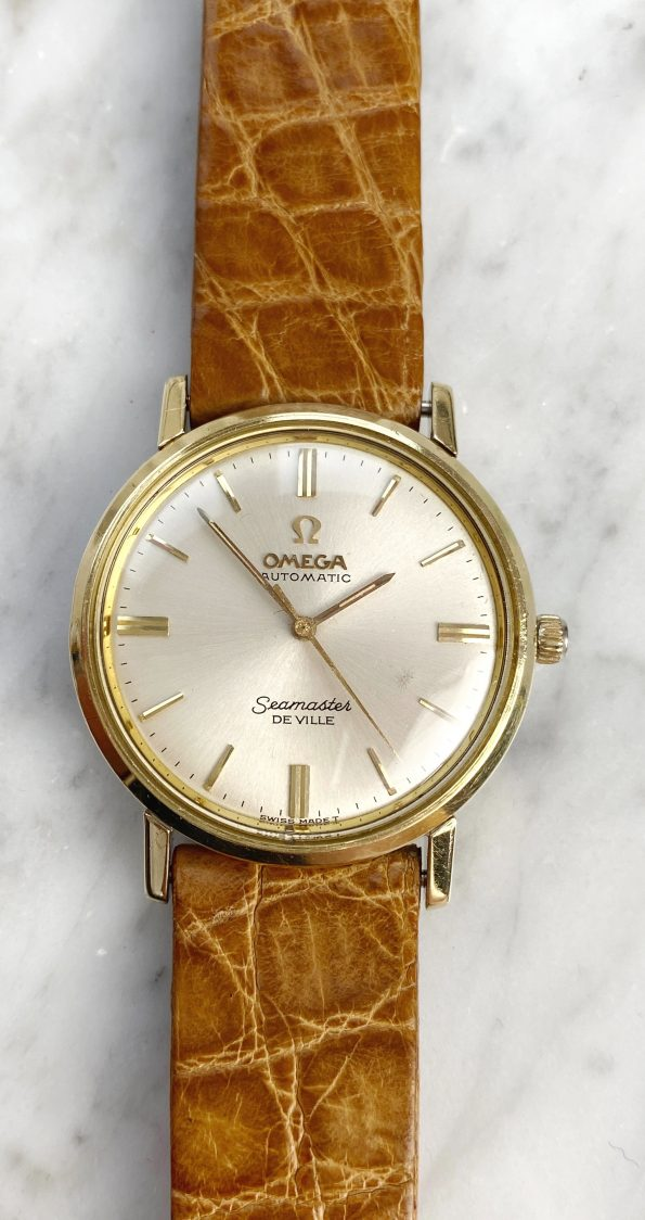 Vintage Omega Seamaster De Ville Automatic Ladies Gold Plated