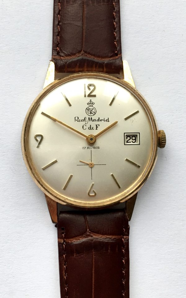 Rare Real Madrid Vintage Watch 1960