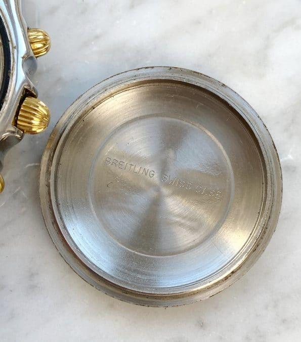 Vintage Breitling Chronomat Chronograph Black Dial