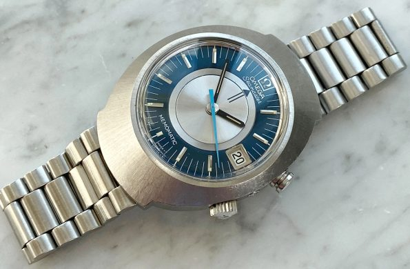 Omega Seamaster Memomatic Automatic Vintage Wrist Alarm