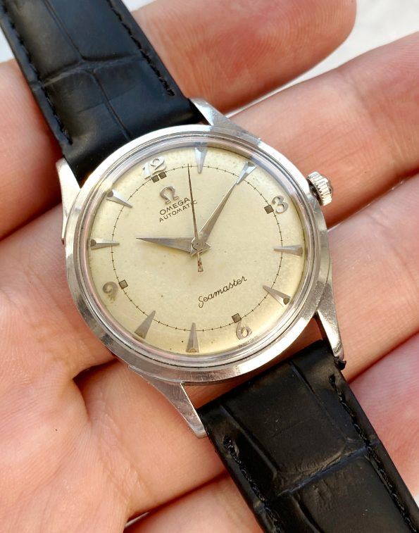 Vintage Omega Seamaster Automatic Bumper Wonderful Dial Indices