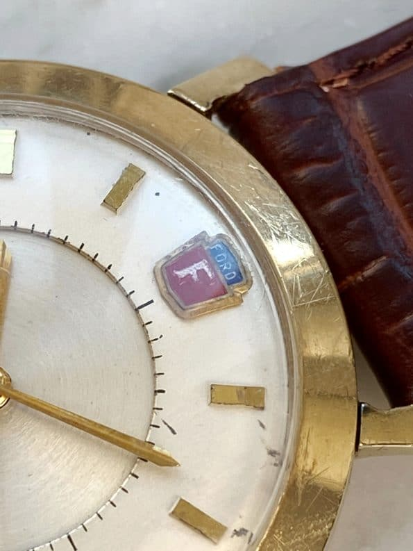 Jaeger LeCoultre Memovox Ford Motor Company Henry Ford Engraving