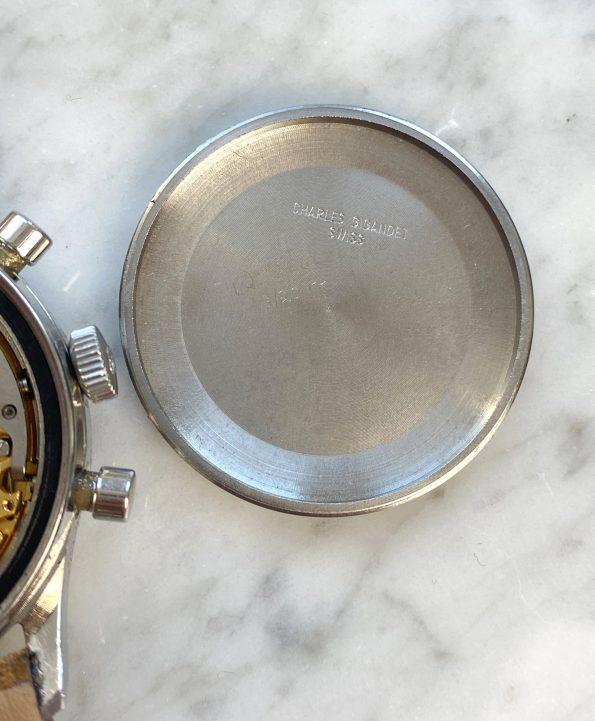 Serviced Wakmann Vintage Chronograph Triple Date Fantastic Condition