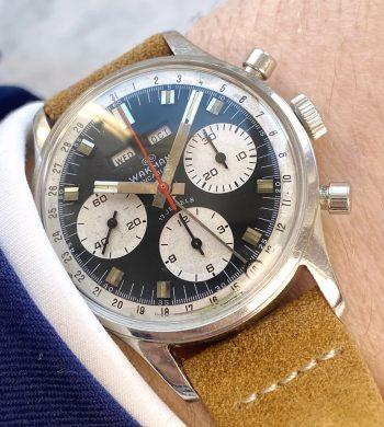 Servicierter Wakmann Vintage Chronograph Triple Date in tollem Zustand
