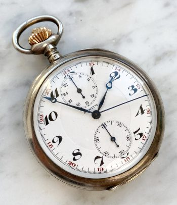 Vintage Zenith Pocket Watch Chronograph