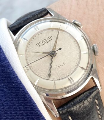 Orator Memovox Cricket Wrist Alarm Structured Dial