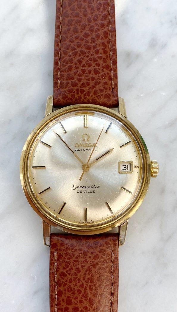 Vintage Omega Seamaster De Ville Automatic Solid Gold