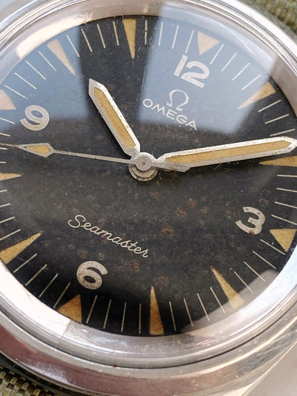 Superrare Omega Seamaster Railmaster PAF Tropical Dial 135004 2914 EXTRACT 135.004