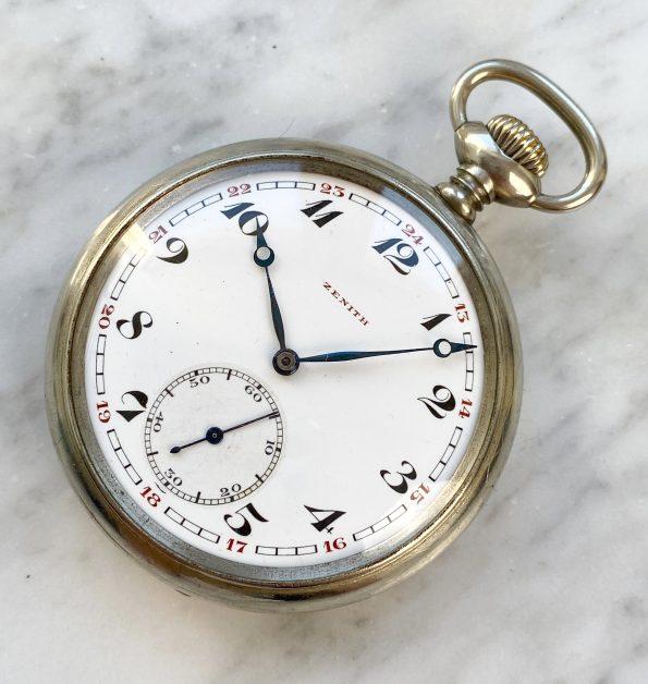 Vintage Zenith Pocket Watch