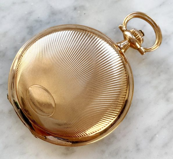 PINK GOLD IWC Pocket Watch