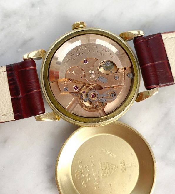 Vintage Solid Gold Omega Automatic