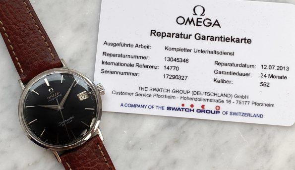 Vintage Omega Seamaster De Ville Automatic Omega Serviced