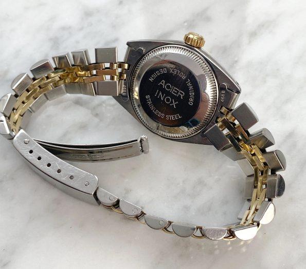 Wunderschöne Rolex Datejust Stahl Gold Damen 26mm 6917 FULL SET