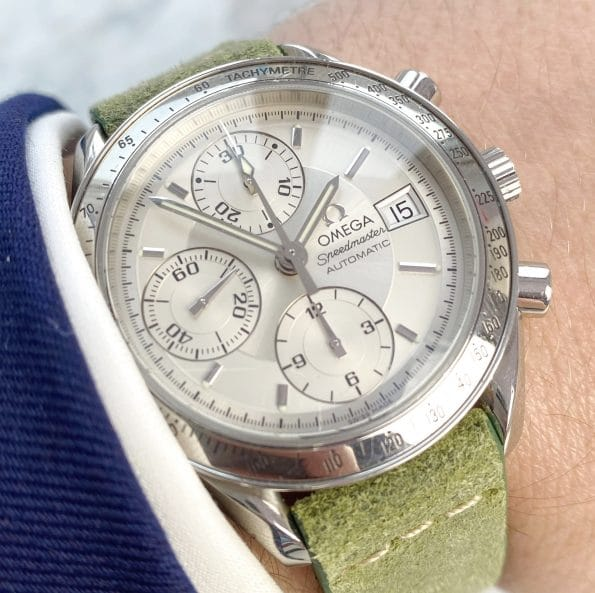 Serviced Vintage Omega Speedmaster Automatic Reduced Date Reference 1750083