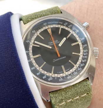 Beautiful Omega Seamaster Chronostop Chronograph Vintage