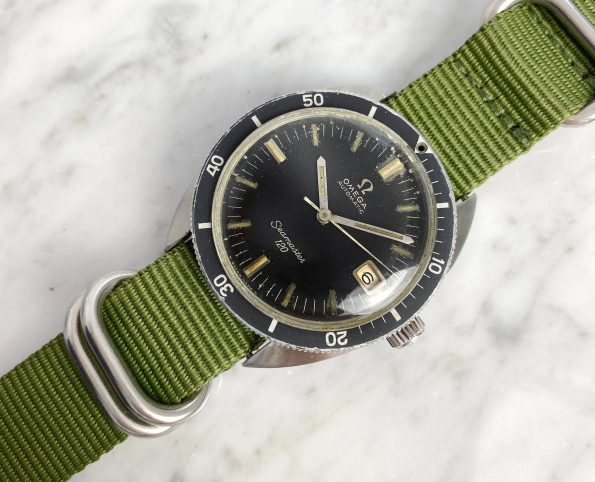 Military Style Omega Seamaster 120 Automatic Vintage Date