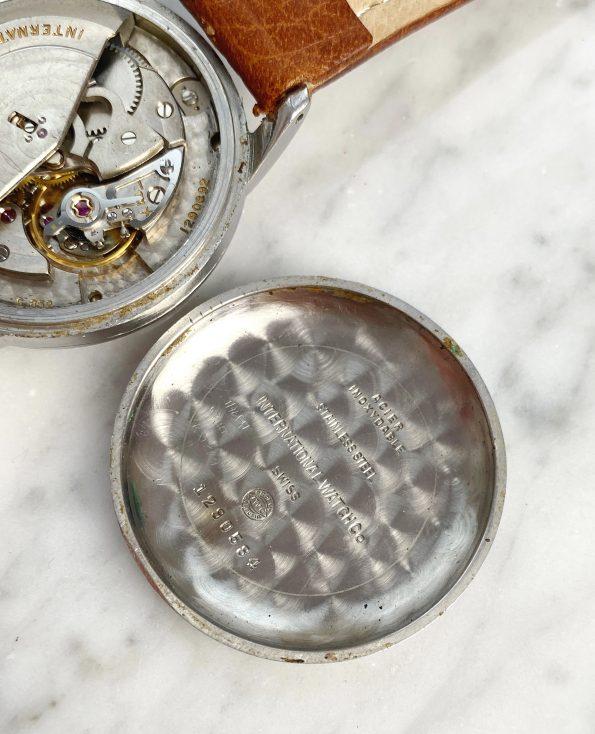 Vintage IWC Steel Automatic Explorer Dial