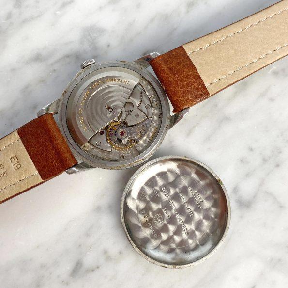 Vintage IWC Automatik Stahl mit Explorer Ziffernblatt