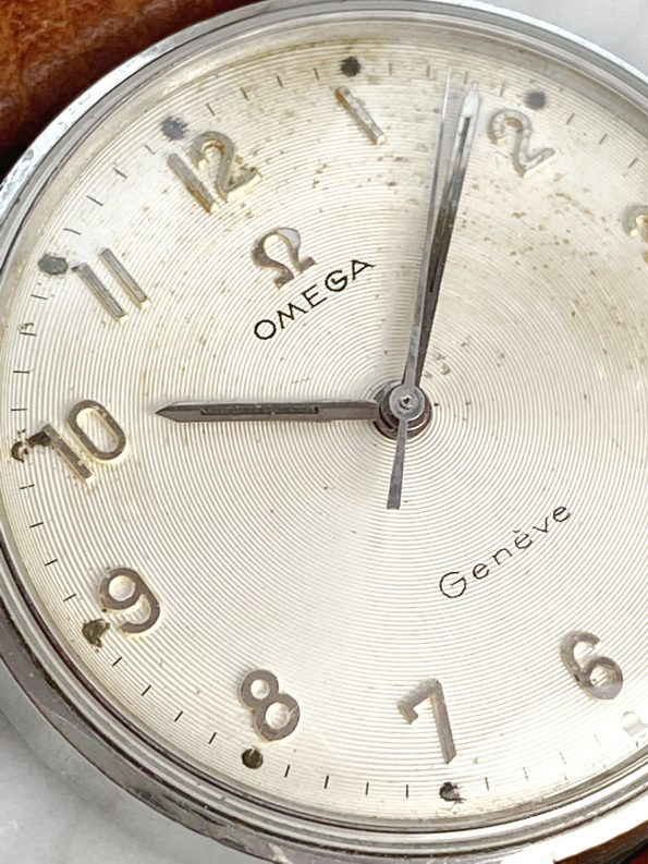 Rare Omega Seamaster Geneve Vintage Vinyl Dial