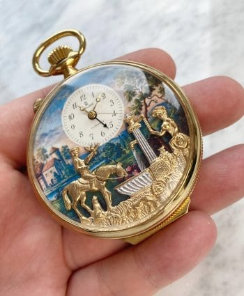 Reuge Musical Pocket Watch with Alarm