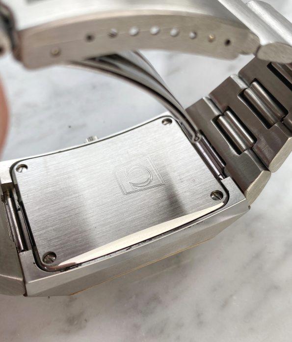 Rare Omega Marine Chronometer f2,4Mhz Megaquartz with very rare Original Box ref 1980082
