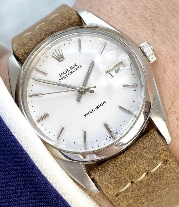 Vintage Rolex Oysterdate Precision Ref 6694
