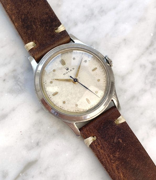 Rare Rolex ref 3742 early Military model 1938