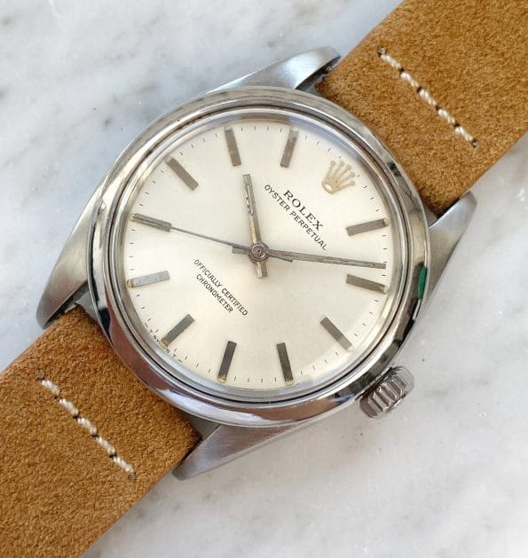 Vintage Rolex Oyster Perpetual Ref 1002 Automatic No Date