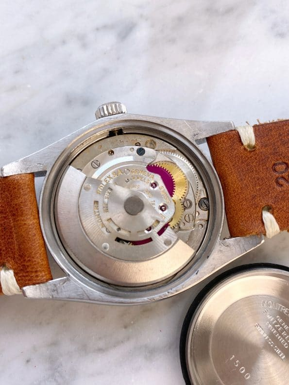 Tolle Rolex Date Automatik Customised Mickey Mouse Dial