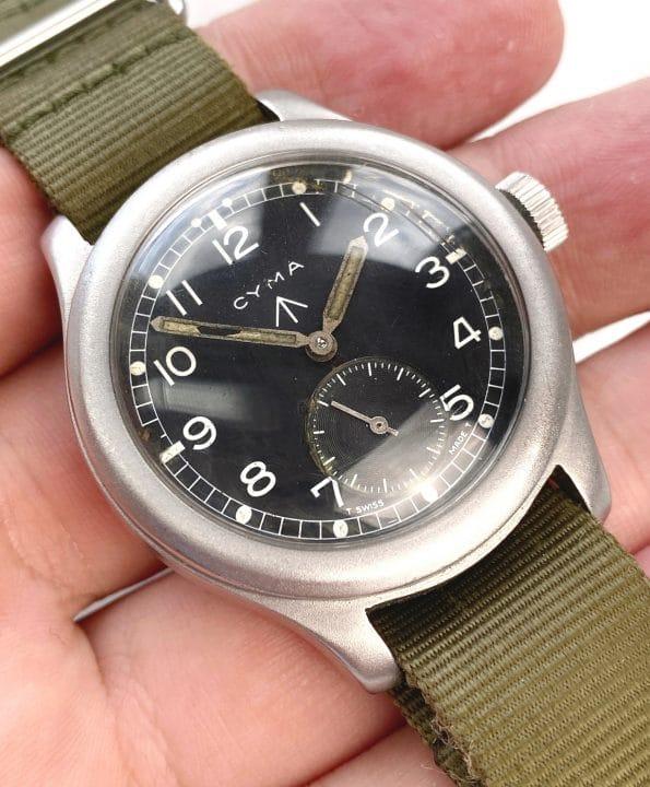 Vintage Cyma Military WWW Dirty Dozen RAF ww2