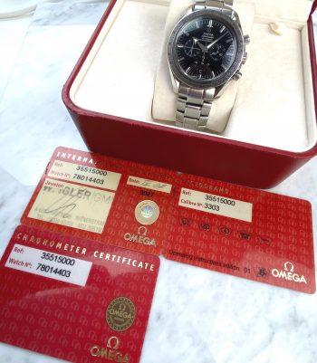 Omega Speedmaster Broad Arrow Moonwatch Chronograph 35515000