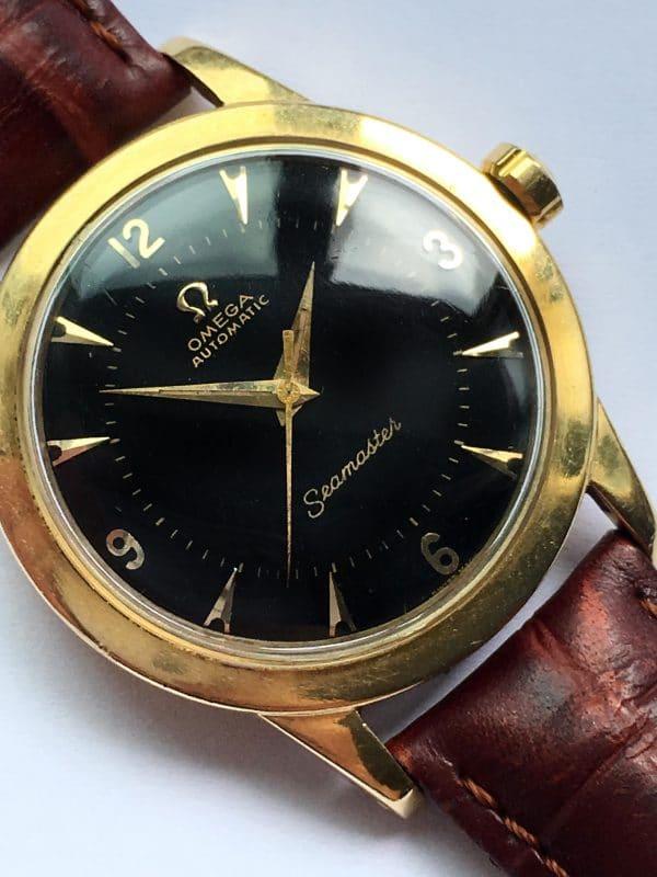 Dennison Cased Perfect Omega Seam. Automatic Gold Bumper