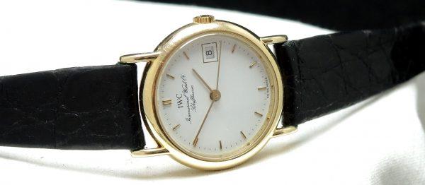 UNDERPRICED Vintage 18k IWC Damen Portofino Quarz